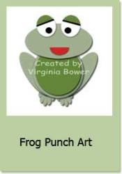 Frog Punch Art