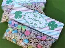 St. Patrick's Day Bag Topper