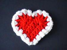 Crochet Red Heart