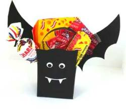 Halloween Treat Bag Bat