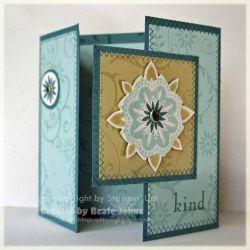 Basic Card Folds: Gate Card - How to make a Gate Fold Card