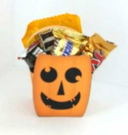 Halloween Treat Bag and boxes