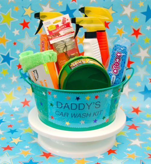 Father's Day Car Wash Kit