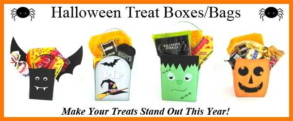 Halloween Treat Bag amd Boxes