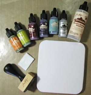 Alcohol Ink in Card Making