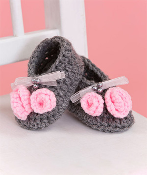 Little Miss Baby Booties