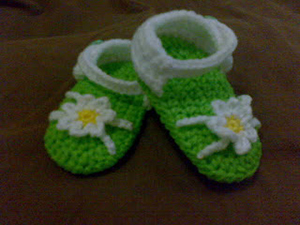 Baby Booties flower sandles