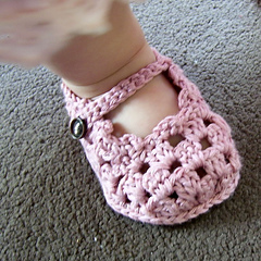 Baby Booties- Mary Janes