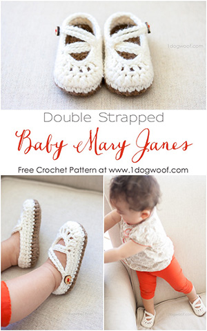 Baby Booties Mary Janes