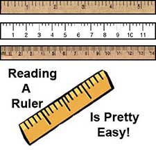 craft resources- ruler measurements