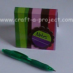 Custom Post It Note Pad
