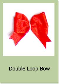 Double Loop Bow Instructions