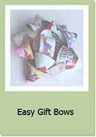 Craft A Project: Easy Gift Bows and Crafts
