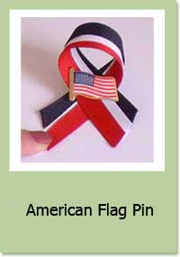 American Flag Pin Craft Project