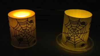 Halloween Candle Wrappers