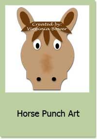 Horse Punch Art