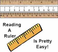 Ruler Measurements: How to Read A Ruler