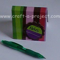 note pad gift idea