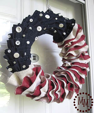 Patriotic Wreath-13
