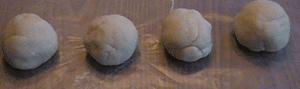 Play Dough four balls