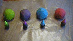 You can make you own play dough (play doh) for your next craft project.