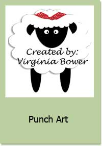 Sheep Punch Art Craft Project