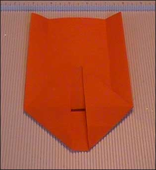 small paper bag both corner folds