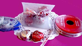 Valentine's Day Candy and Flowers