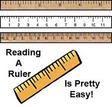 craft resources- ruler measurements