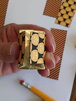 Halloween Treat Bag Tutorial and Nugget Wrappers