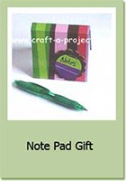 Craft A Project: Custom Post it Notes Crafts