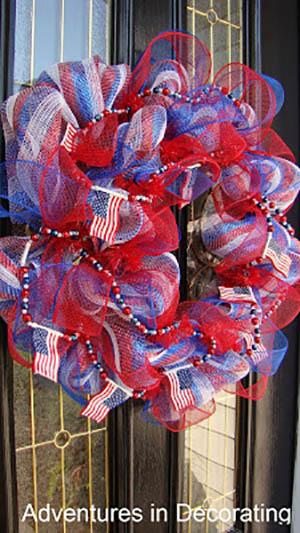 Patriotic Wreath-2
