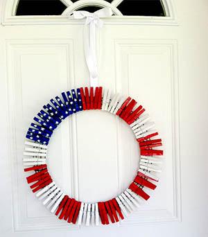 Patriotic Wreath-9