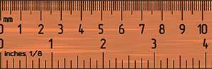 Ruler Measurements How To Read A Ruler